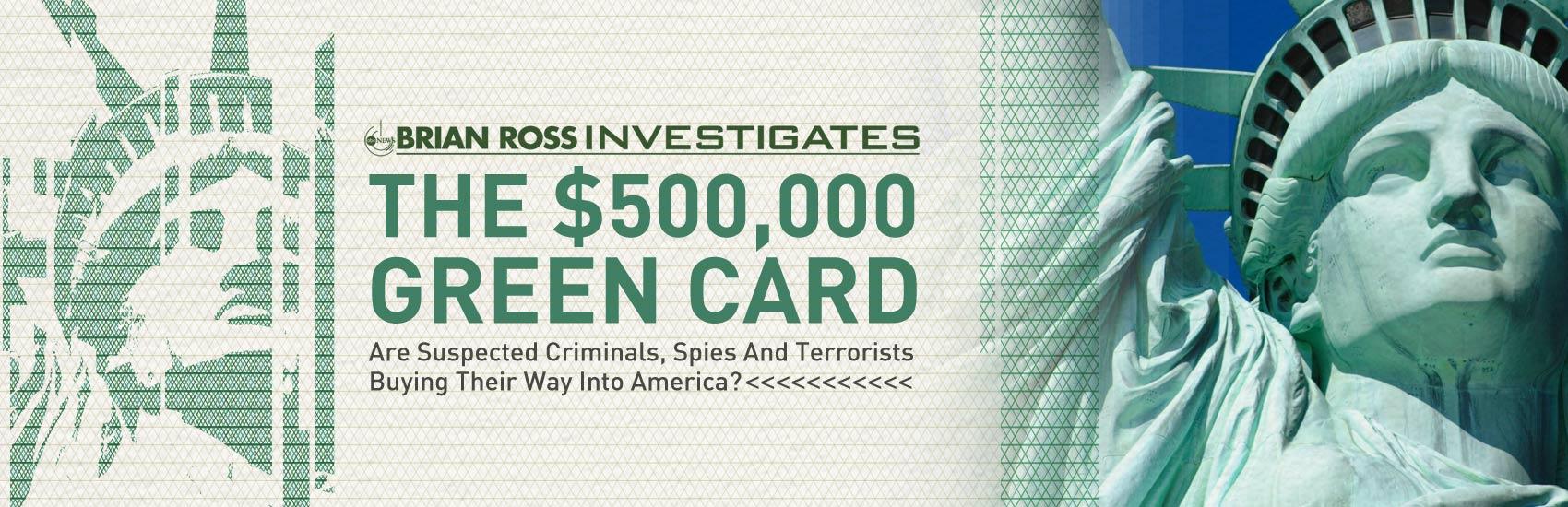 The $500,000 Green Card | The EB-5 Visa Program - ABC News