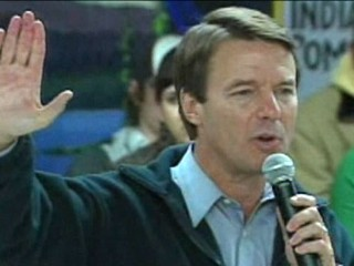 VIDEO: Part 2: Hunter watches, dumbstruck, as John Edwards extols his wife on 'Oprah.'