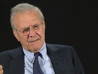 "VIDEO: Donald Rumsfeld Doesn't Like ""War on Terror"""