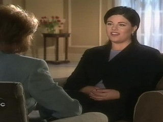 VIDEO: Monica Lewinsky talks to Barbara Walters about the evidence of her relationship with Bill Clinton.