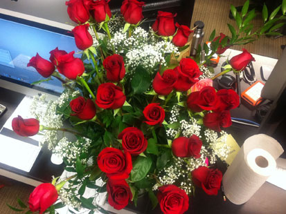 the logistics of delivering flowers on valentine's day  abc news, Beautiful flower