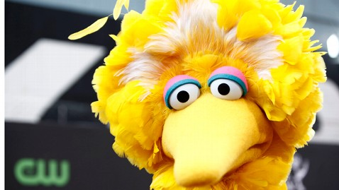 AP big bird debate 121004 wblog Obama TV Ad Uses Big Bird to Mock Romney