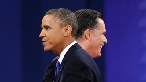 ap obama romney cross wblog Romney Takes Lead on Economy; White Men are the Movers