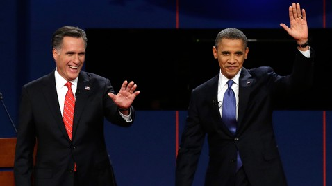 ap romney obama debate denver 121003 wblog 1 in 10 Viewers Watched Debates on TV Plus 1 Additional Screen