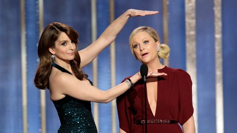 ap tina amy golden globes 130113 wblog Tina Fey Says No Way to Hosting Oscars