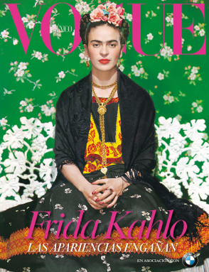 "Vogue Mexico celebrates ""Frida's Dresses"" on display in Mexico City"