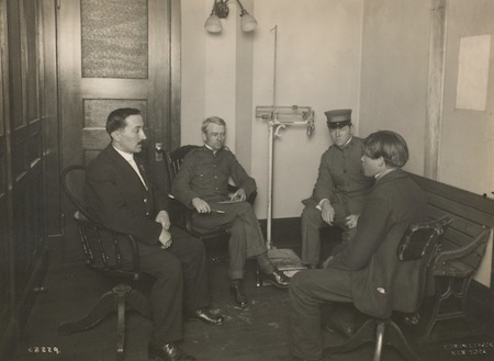Ellis Island interview