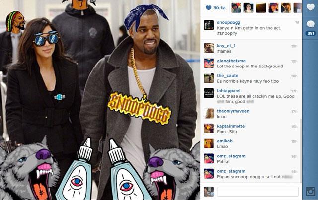 Snoop Dogg Catch Phrases: Snoop Dogg Aka Snoop Lion Loves His Snoopify App