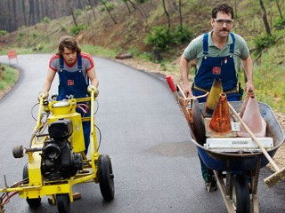 PHOTO: Emile Hirsch and Paul Rudd in 'Prince Avalanche', premiering at Sundance 2013