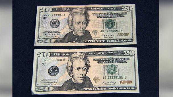 ABC counterfeit mar 140507 16x9 608 Counterfeit Investigation: Can You Spot the Fake $20?