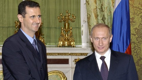 gty assad putin tk 120319 wblog Russia Denies It Sent Anti Terror Unit to Syria