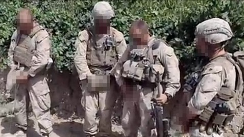 ht marines peeing blurred nt 120111 wblog Marine Captain to Face Court Martial Over Urination Video