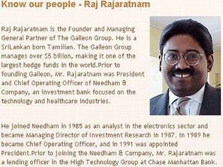 Photo: Raj Rajaratnam Accused in $20 Million Insider Trading Case
