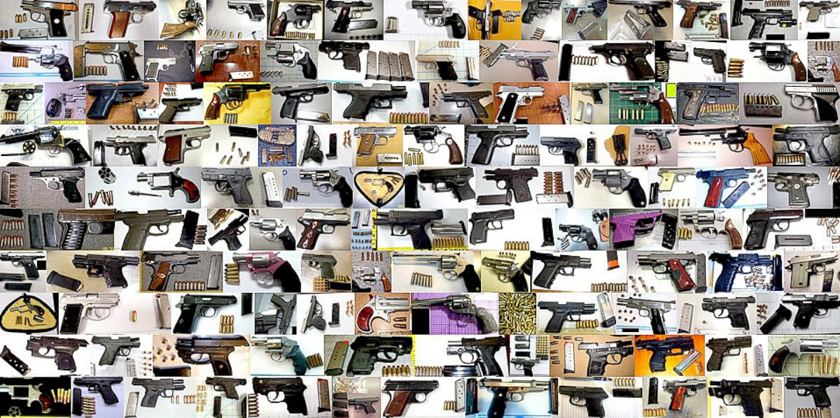 ht tsa guns sr 140124 Packed and Packin: Top 5 Airports for Confiscating Guns
