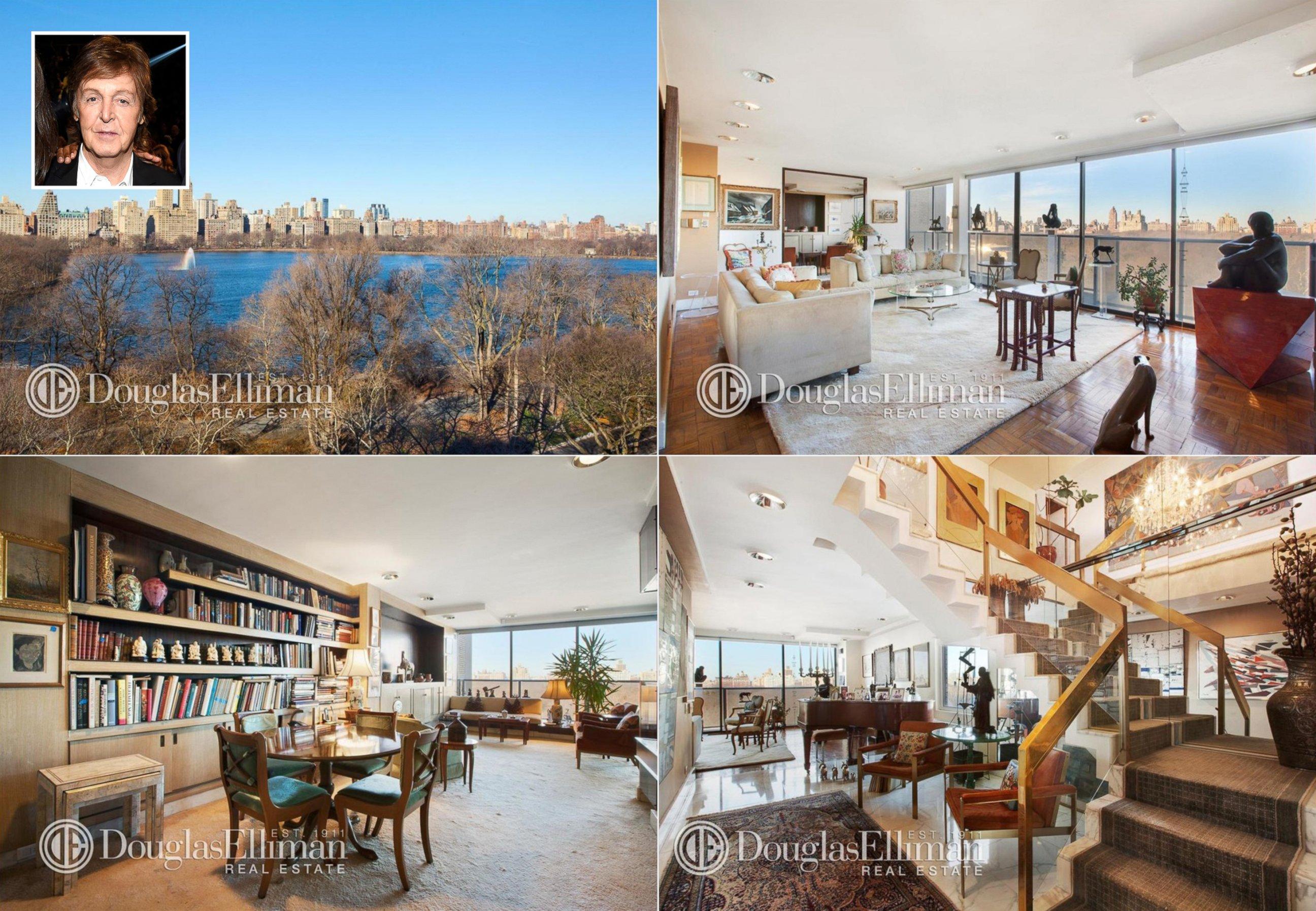 paul mccartney new york apartment latest bestapartment 2018. Black Bedroom Furniture Sets. Home Design Ideas