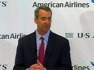 VIDEO: American Airlines CEO Tom Horton promises company will be a leader in the airline industry.