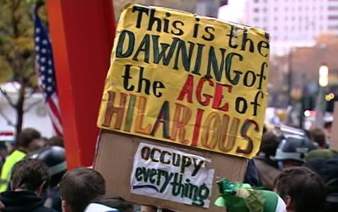 abc occupy signs 01 nt 111117signs1 Occupy Wall Streets Day of Disruption: WN Live Updates