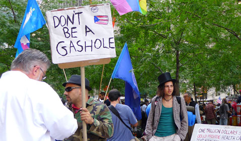abc occupy wall street 1Thaglergeard thg 111011 Wacky Signs From Occupy Wall Street