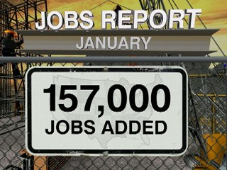 VIDEO: Jobs report for January 2013.
