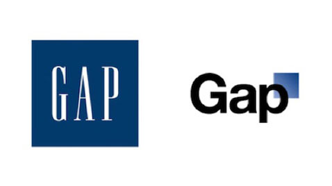 gap logos thg 111201 wblog Coke and Diet Coke Cans Should Be Polar Opposites, Buyers Say