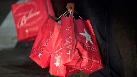 gty holiday shopping jef 130115 wblog December Retail Sales Top Forecast