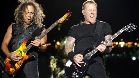 gty metallica thg 111205 wblog Metallica, Red Hot Chili Peppers Bet Against the Euro