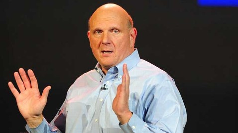 gty steve ballmer thg 120201 wblog Microsoft, American Air Brace for Reported Layoffs