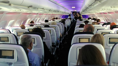 gty virgin america airlines inside cabin thg 130503 wblog Man Sues Airline Over Soda Spat
