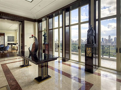 ht 15 central park west penthouse ll 120315 main Divorcing Wife Sues Billionaire Over $88M NY Penthouse