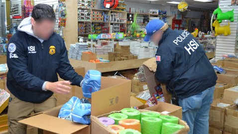ht ICE raid kb 130206 wblog Five NY Firms Charged With Importing Toxic Toys From China