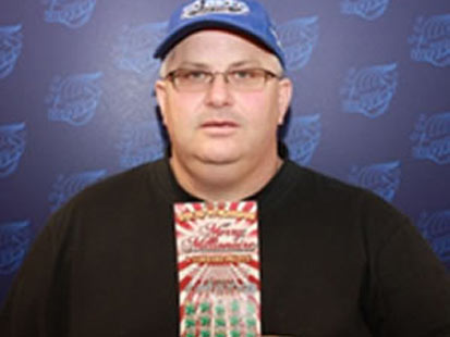 ht Scott Anetsberger lottery winner thg 120111 main Illinois Man Wins Lottery    Again
