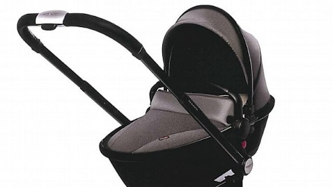 Aston Martin Makes Pricey LimitedEdition Baby Stroller ABC News - Aston martin stroller