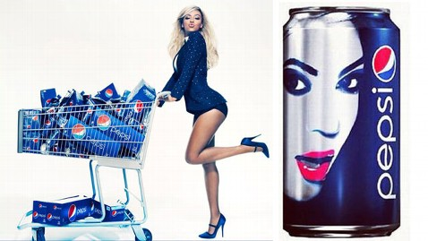 ht beyonce pepsi ad new can thg 121211 wblog Beyonce Inks $50M Deal with Pepsi