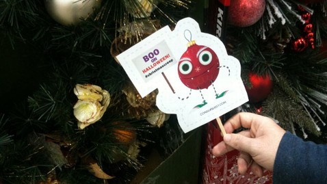 Christmas Business Decorations.Consumers Fight Early Christmas Decorations Abc News