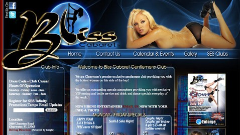 ht club bliss dm 120710 wblog Fla. Man Claims Club Stripped Him of $50K
