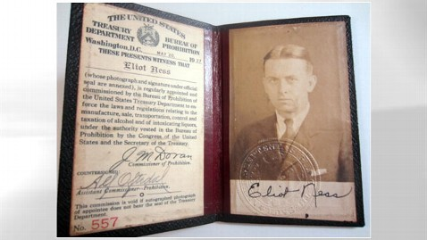 ht eliot ness credentials nt 120716 wblog Now Touchable: Eliot Ness Items At Auction