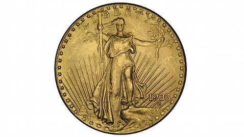 ht gold coin tk 120905 wblog White House Wont Rule Out $1 Trillion Coin Option