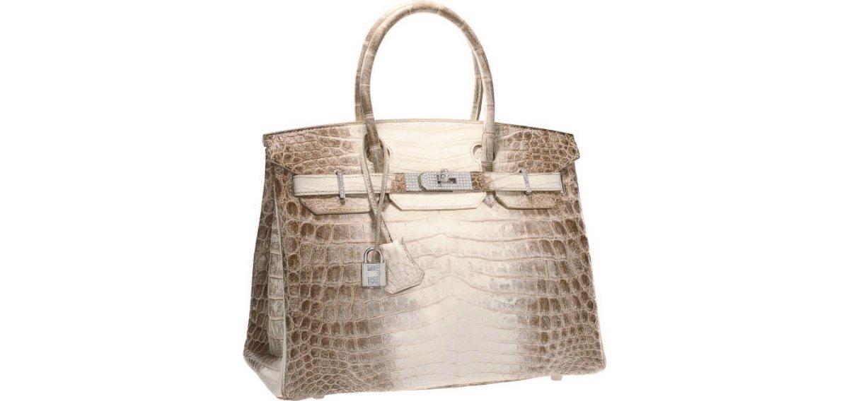 c60f51a475a Hermès Diamond Himalayan Birkin Bag Sells For  185