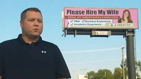 ht hire my wife billboard ll 120830 wblog Husband Surprises Wife With Billboard to Help Her Job Search