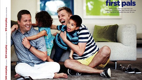 ht jc penney ad jp 120601 wblog JC Penney Raises Ire With Another Gay Friendly Ad