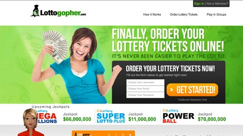 Lottogopher.com Wants to Sell You Lotto Tickets Online