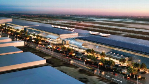 $82M Google Airport Terminal Set - ABC News