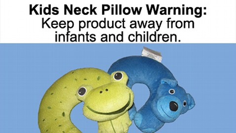 ht wacky warning labels kneck pillow lpl 120619 wblog PHOTO BLOG: Top 5 Wacky Warning Labels
