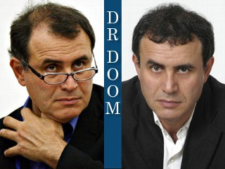 Nouriel Roubini is known for his gloomy economic forecasts, especially one he made two years ago, when others doubted that a U.S. recession was on its way.