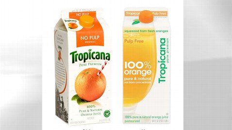 tropicana logos thg 111201 wblog Coke and Diet Coke Cans Should Be Polar Opposites, Buyers Say
