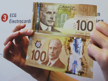 Canada Introduces New Plastic Currency