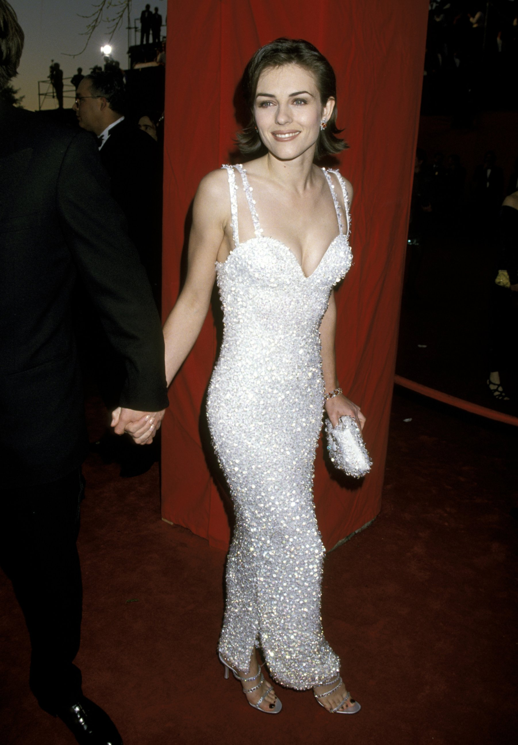 Image result for elizabeth hurley academy awards 1995