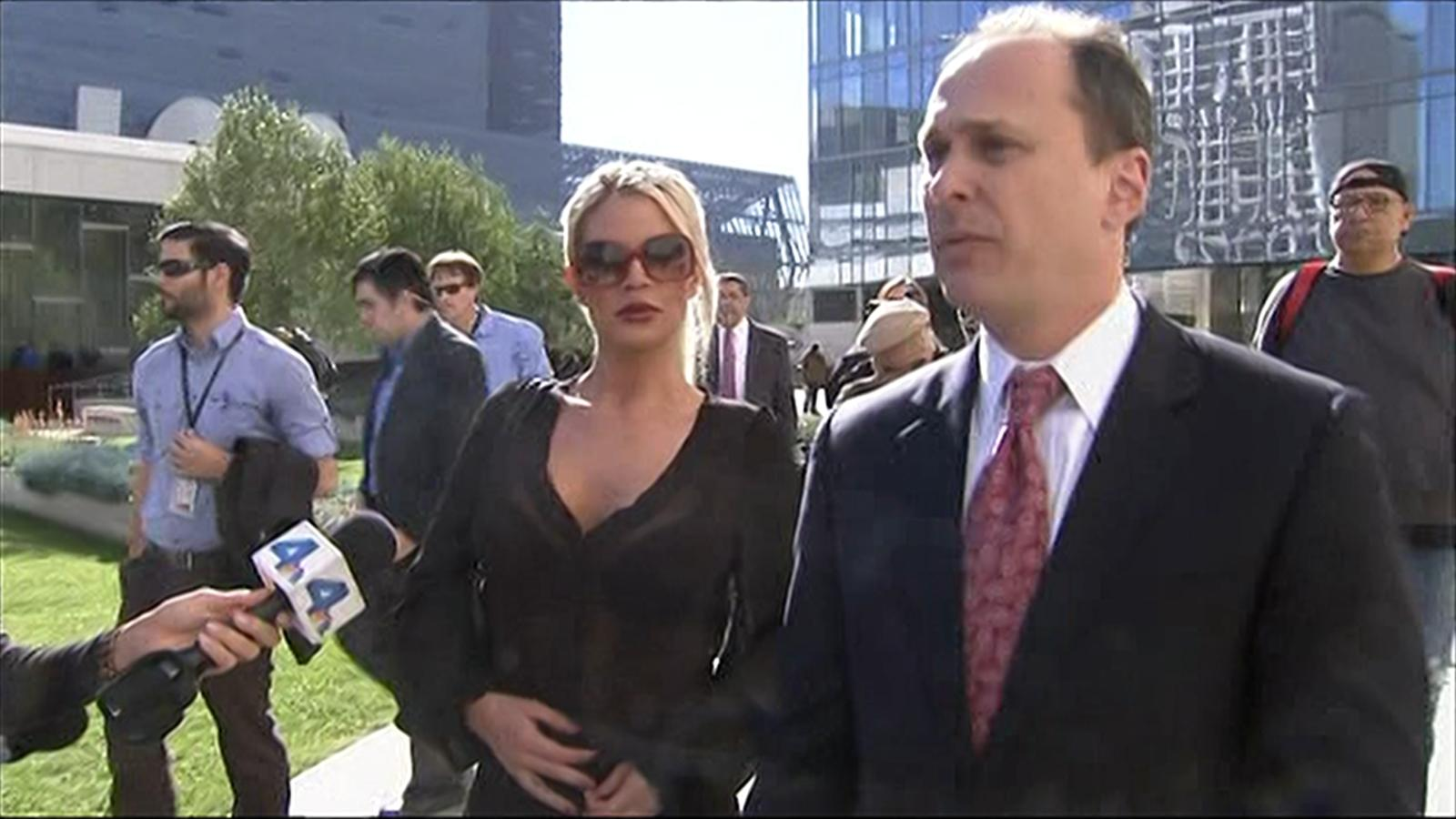 Video model chloe goins is pursuing criminal charges against bill