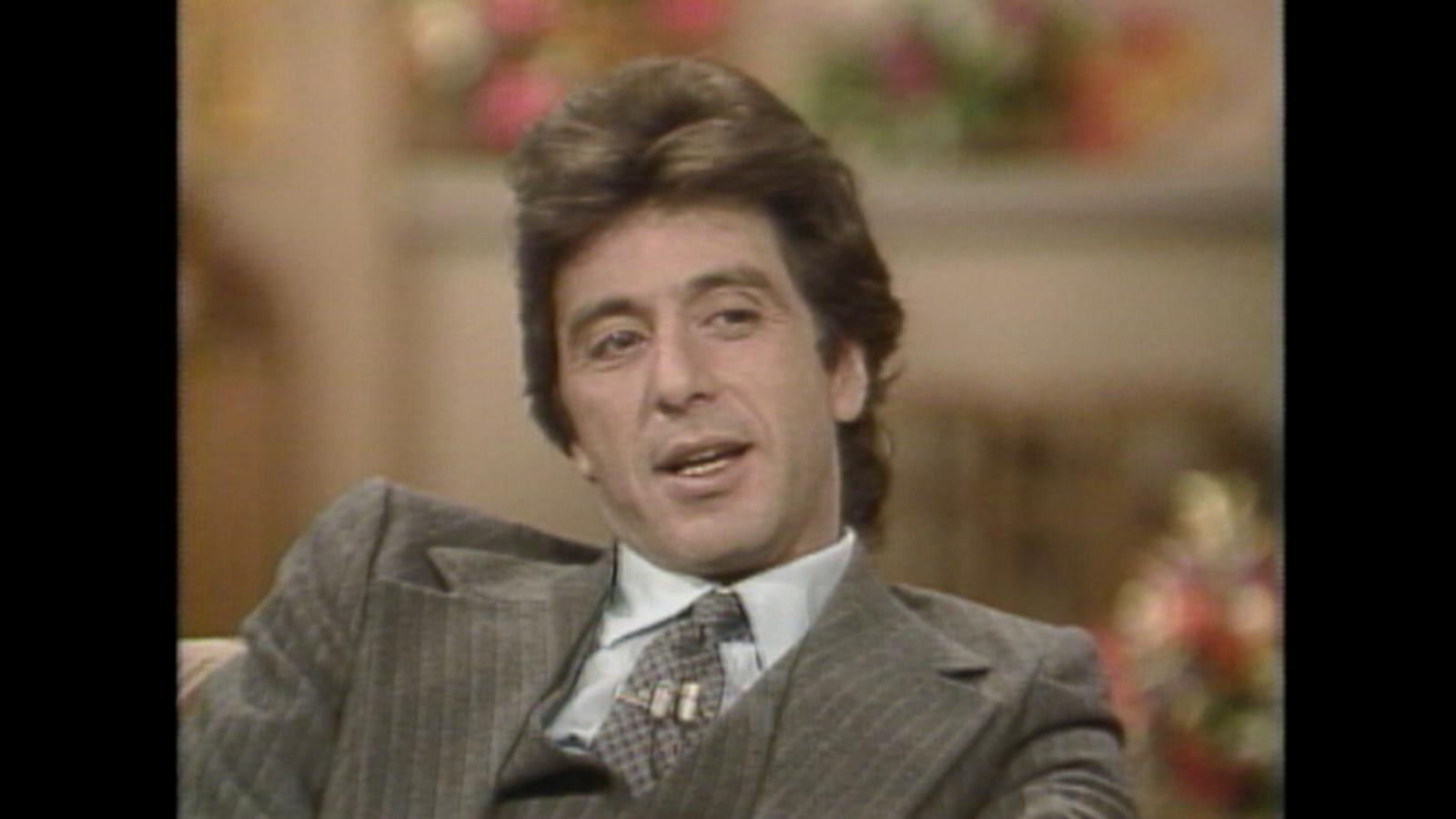 al pacino videos at abc news video archive at. Black Bedroom Furniture Sets. Home Design Ideas