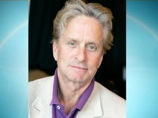 VIDEO: Michael Douglas say that he's beaten throat cancer.